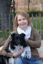Diese ist ein Foto von der Reico Vertriebspartnerin Katrin Witt mit Ihrem Hund