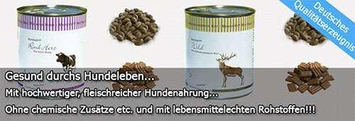 Dieses Bild zeigt Reico Hundefutter Sorten - Nassfutter und Trockenfutter